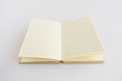 Catalogo in bianco, rivista, modello del libro con le ombre molli aspetti Fotografia Stock Libera da Diritti
