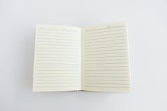 Catalogo in bianco, rivista, modello del libro con le ombre molli aspetti Immagine Stock
