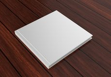 Catalogo bianco in bianco, riviste, libro per la presentazione alta di progettazione di derisione 3d rendono l'illustrazione Fotografie Stock