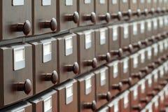Catalogo di legno fotografie stock