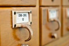 Catalogo di scheda fotografia stock libera da diritti