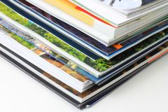 Catalogs Royalty Free Stock Images