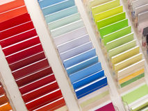 Catalogue of the colors Stock Photos