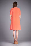 Catalogue des vêtements de mode pour les acces occasionnels de collection d'été de robe de coton en soie de partie de promenade d Images libres de droits