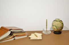 Catalogusontwerp writing brieven royalty-vrije stock foto's
