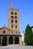 catalonia de maria kloster ripoll santa spain Arkivbild