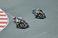 Catalonia-Espanha de 24 horas do motociclismo Imagens de Stock Royalty Free