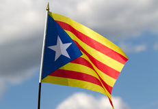 Catalonia flag. Stock Photography