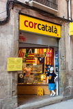 Catalonia independance store Stock Photography