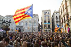 Catalonia independence Stock Images