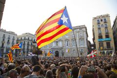 Catalonia independence Stock Image
