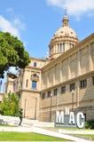 Catalonia krajowy Muzeum Sztuki Obraz Stock