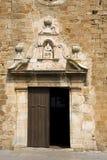 catalonia kyrkliga pals Arkivbild