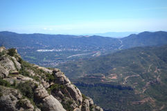 Catalonia mountains,Spain Stock Image