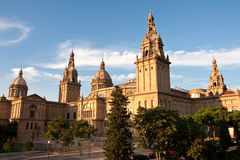 Catalonia national museum Royalty Free Stock Images