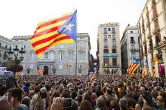 Catalonia niezależność Obrazy Stock