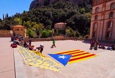 Catalonia no jest Hiszpania Fotografia Stock