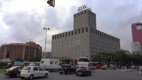 Catalonia placu hotel w Barcelona zbiory wideo