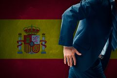 Catalonia separatism concept Stock Photography