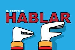 CATALONIA/SPAIN, 7 2017 Październik - czas DLA rozmowy opowiada między Katalońskimi separatystami i Hiszpańskim rzędem, Hiszpańsk Obraz Stock