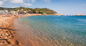 catalonia tossa de Mar Spain Fotografia Royalty Free