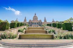 Catalonian national museum MNAC Stock Image