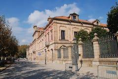 Catalonian parlamentbyggnad, Barcelona Royaltyfri Foto