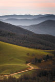 Cataloochee Valley Sunrise Stock Photos