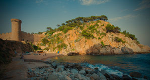 Catalunya, Tossa de Mar 06.13.2013 Royalty Free Stock Photography