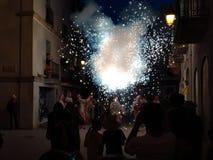 Catalunya traditioner royaltyfri fotografi