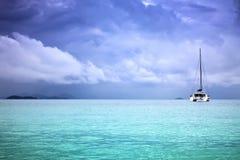 Catamarán foto de archivo libre de regalías