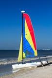 Catamarán colorido Fotos de archivo