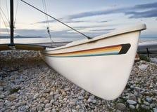 Catamarán en la playa Imagen de archivo