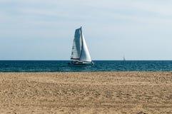 Catamarã da navigação Foto de Stock