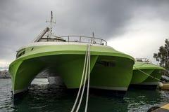 Catamarã dos passageiros Imagens de Stock