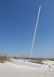 Catamarã na praia Fotografia de Stock Royalty Free
