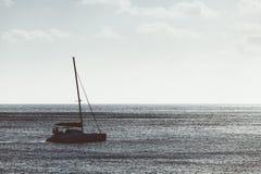 Catamarã no mar Fotografia de Stock