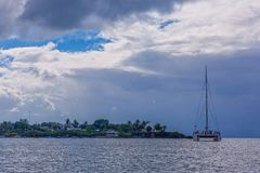 catamaran fotografia de stock royalty free