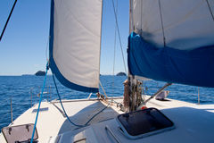 Catamaran Photos libres de droits
