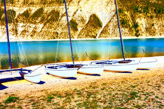 catamaran imagem de stock royalty free