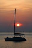 catamaran Fotografering för Bildbyråer