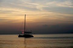catamaran Arkivfoto