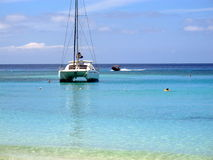 Catamaran on the beach Royalty Free Stock Photo