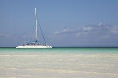 Catamaran boat tour Stock Photos