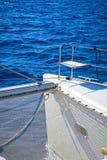 Catamaran bow Stock Photo