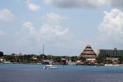 Catamaran Cozumel Zdjęcie Stock