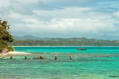 Catamaran de Waimanalo Photos libres de droits