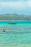 Catamaran de Waimanalo Photo libre de droits