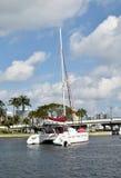 Catamaran in Fort Luaderdale, FL Royalty Free Stock Image