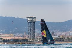 Extreme Sailing Series, Barcelona Stock Photography